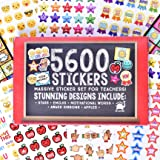 Josephine on Caffeine Teacher Stickers for Kids- Bulk Teacher Supplies Value Pack 5600 Reward Stickers Classroom Supplies School Supplies for Teachers