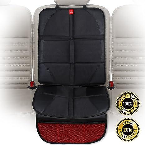 ROYAL RASCALS - Protector para el asiento del coche - Protege la tapicería con una cubierta acolchada - Isofix - Protección resistente contra las ...