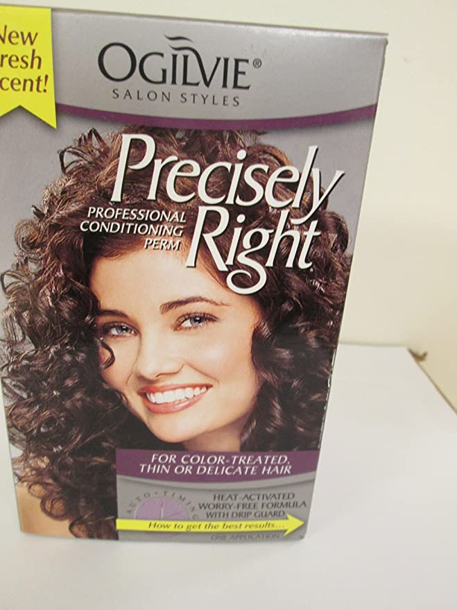 Amazon Com Ogilvie Precisely Right Perm For Color Treated Thin Or Delicate Hair Beauty