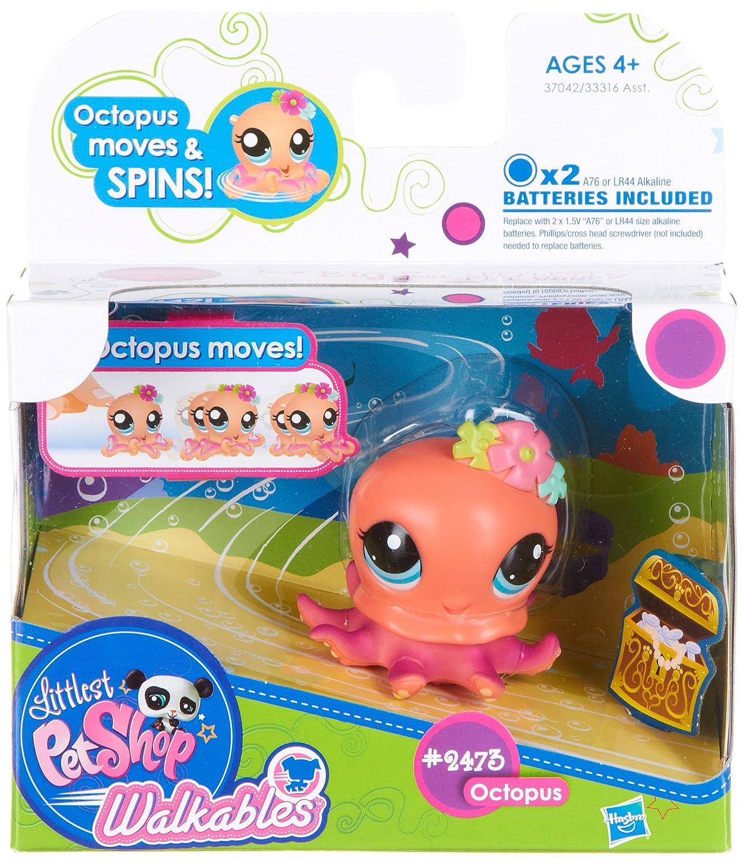 promociones Littlest Pet Pet Pet Shop Walkables Figure 2473 Octopus by Littlest Pet Shop  buscando agente de ventas