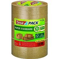 tesapack Paper Standard - Milieuvriendelijke Papieren Verpakkingstape, 56% Biologische Materialen - Efficiënt en…