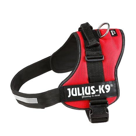 Julius-K9, Talla 3, 82-118 cm, Rojo