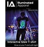 Illuminated Apparel T-shirt Fluorescente Interattiva