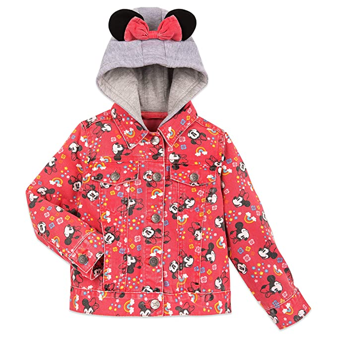 Amazon.com: Disney Minnie Mouse - Chaqueta con capucha para ...