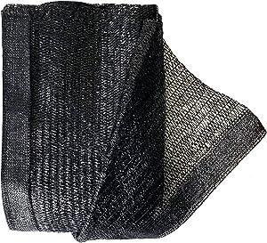Garden EXPERT 10ft x 5ft 50% Black Sun Shade Net Plant Mesh Shade Cloth Sunblock UV Resistant Netting for Greenhouse&Garden