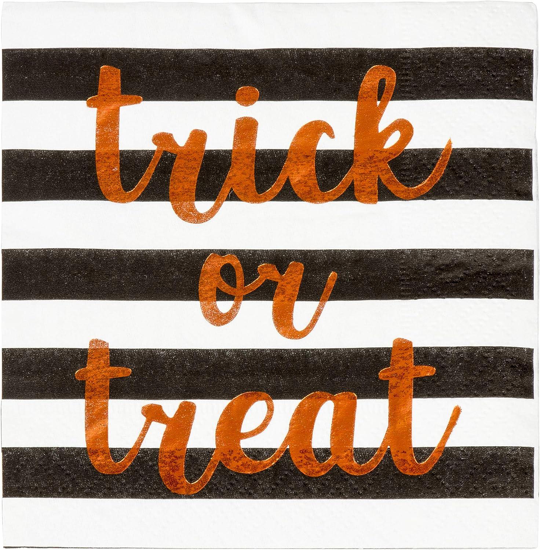 Trick or Treat Napkins