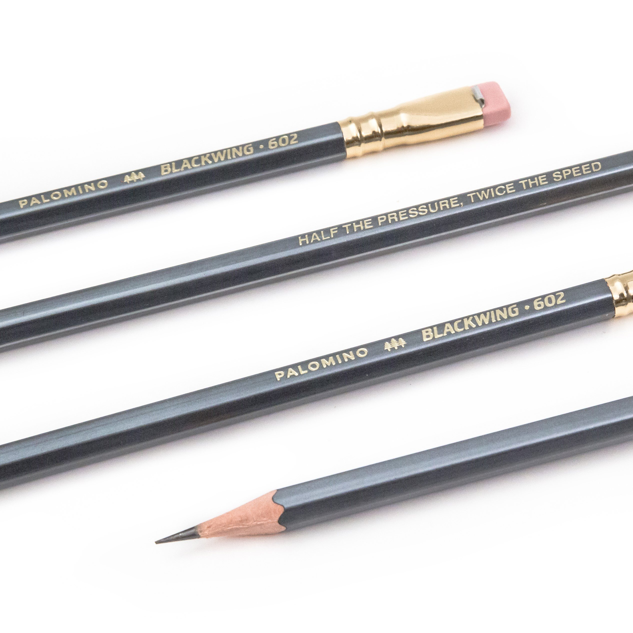 12 Lapices Negros Palomino Blackwing 602
