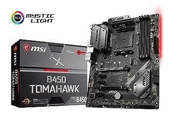 MSI B450 TOMAHAWK Socket AM4 ATX Motherboard for AMD Ryzen Processors