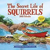 The Secret Life of Squirrels Wall Calendar 2021