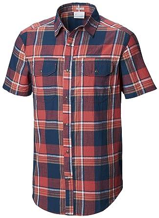 c8d0bb7e859 Columbia Men's Leadville Ridge Yarn Dye Short Sleeve Shirt: Amazon.in:  Clothing & Accessories