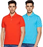 Amazon Brand - Symbol Men's Solid Polo (Combo Pack of 2)