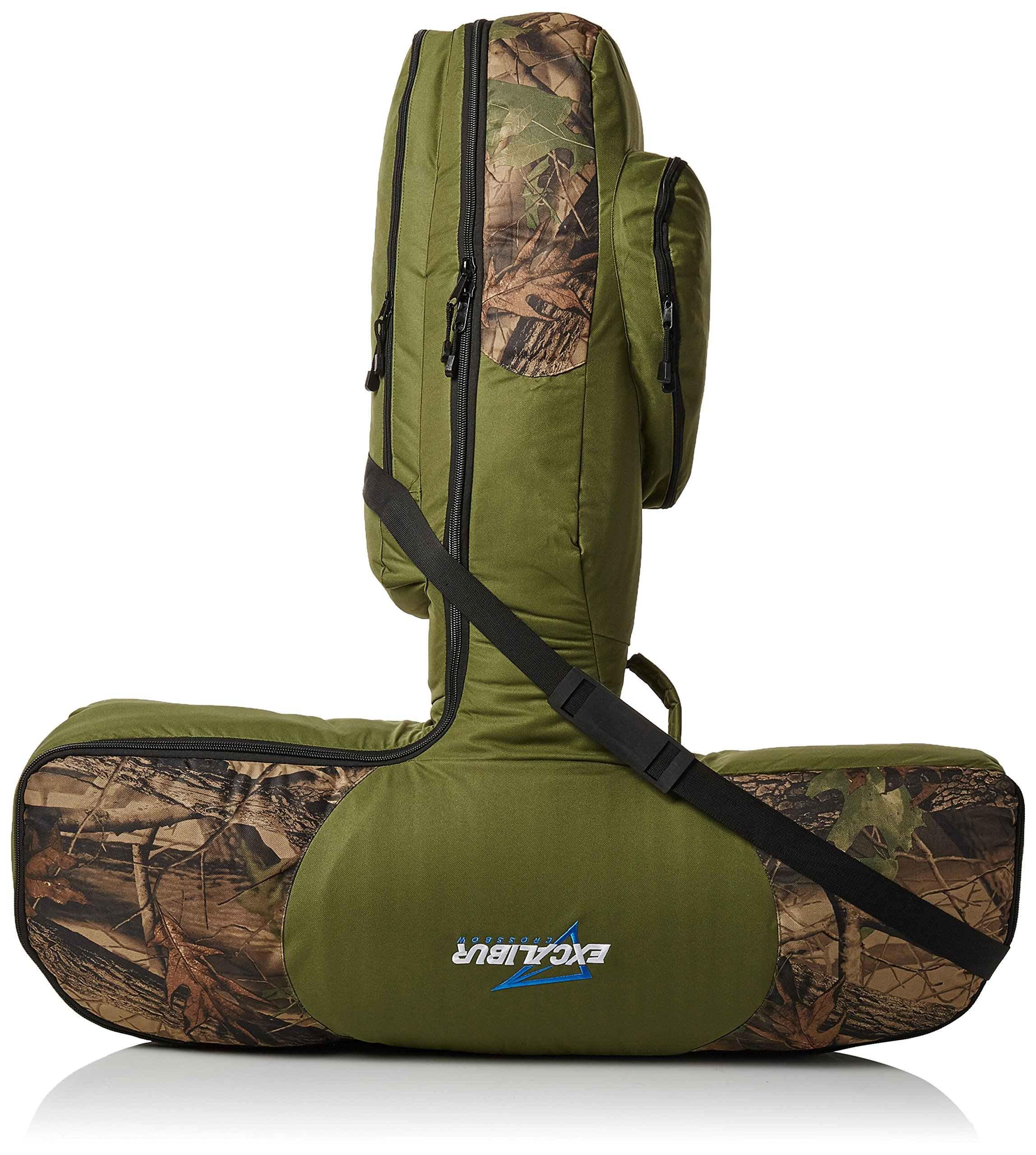 Excalibur Deluxe T-Form Padded Case Green/Camo