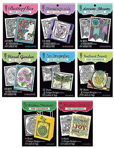 Adultos Libros para Colorear Los Deseos de papel | conjunto de ...