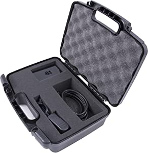 Casematix Tough Mini Desktop Travel Case Compatible with Barebone Computer Boards and Accessories Raspberry Pi 2 B Plus , Arduino Uno , Banana Pi or Zotac with Chargers , Adapters and More