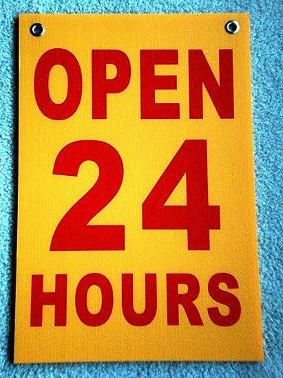 Amazon.com: 1 pieza de cartel único y momentáneo abierto de ...