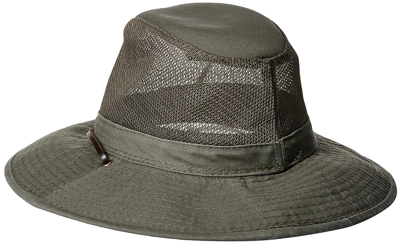 77e9fb6c99cc88 Men's Garment Washed Twill Safari with Uv Mesh: Amazon.ca: Clothing &  Accessories