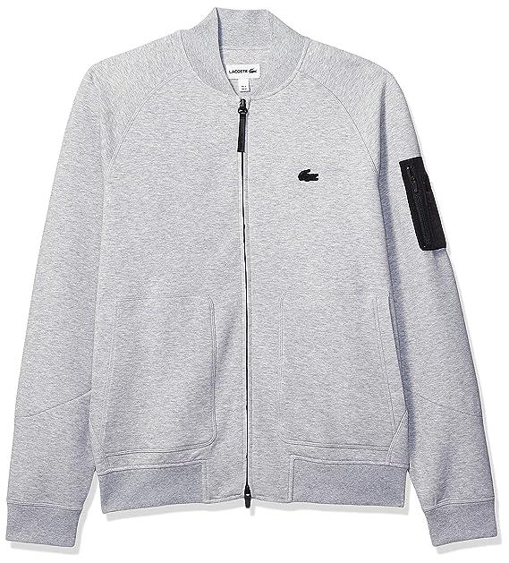 begrænset garanti bedste sneakers uk tilgængelighed Lacoste Men's Long Sleeve Milano Uni Sweatshirt at Amazon ...
