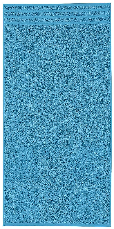 Kleine Wolke 3003459262 Royal-Asciugamano da bagno, in cotone, 50 x 100 cm, colore: rosso