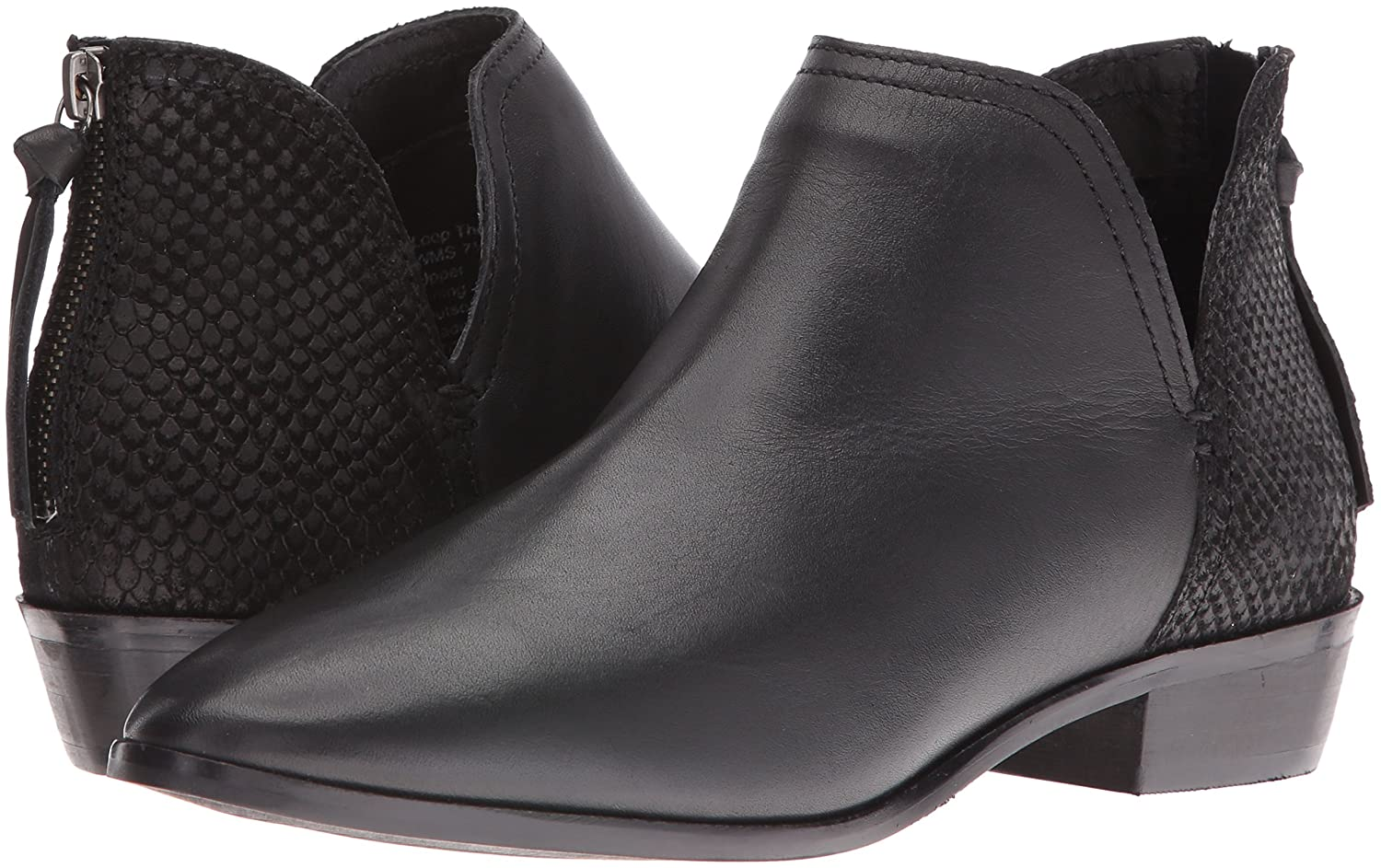 Kenneth Cole REACTION Women's Loop There It is Ankle Bootie B01J5FW5Q2 7.5 B(M) US|Black