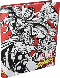 Grupo Erik Editores Marvel Comics - Carpeblock con 4 anillas, 32 x 27.5 cm