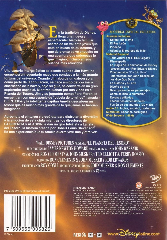 El Planeta Del Tesoro Import Movie European Format - Zone 2 ...