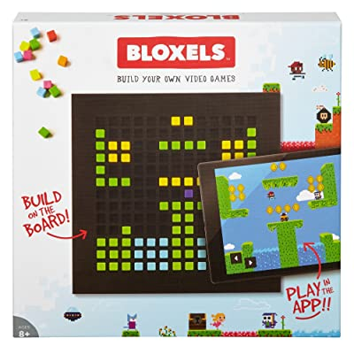 Mattel Bloxels Build Your Own Video Game - Discontinued from Manufacturer, Brown: Toys & Games
