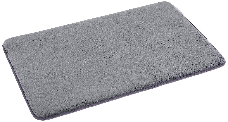 AmazonBasics Non-Slip Memory Foam Bathmat 18'' x 28'', Beige