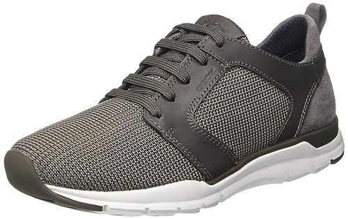 Geox Herren U Calar B Low Top: Schuhe & Handtaschen