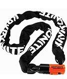 "Kryptonite Evolution Series-4 1016 Integrated Chain Bicycle Lock Bike Lock (5.25"")"