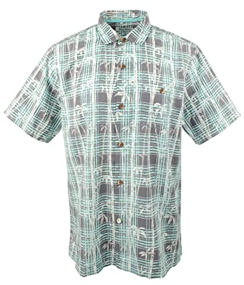 414e0995eb Tommy Bahama Island Zone Bianco Bamboo Silk Blend Camp Shirt at Amazon  Men s Clothing store