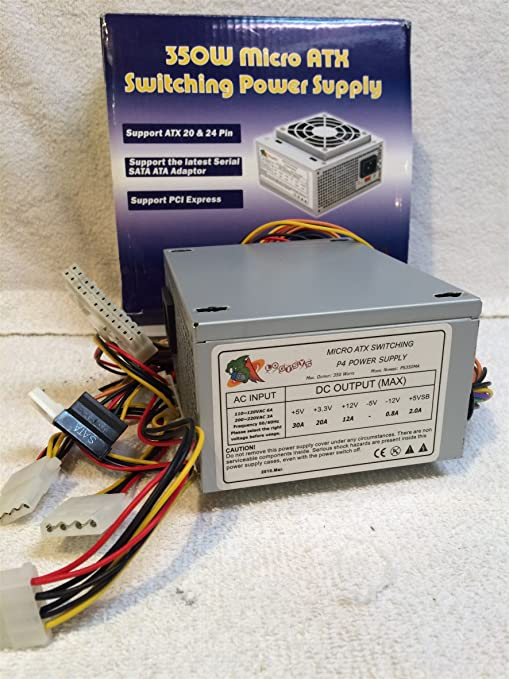 Amazon.com: Logisys Micro ATX 350W Power Supply, Model \
