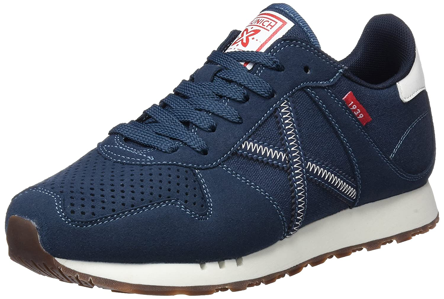 Munich Massana, Zapatillas Unisex Adulto 45 EU|Azul (245)