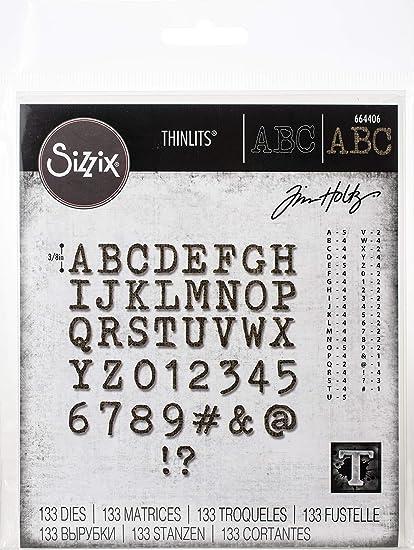 Sizzix Thinlits Die Set Misc Spanish Words