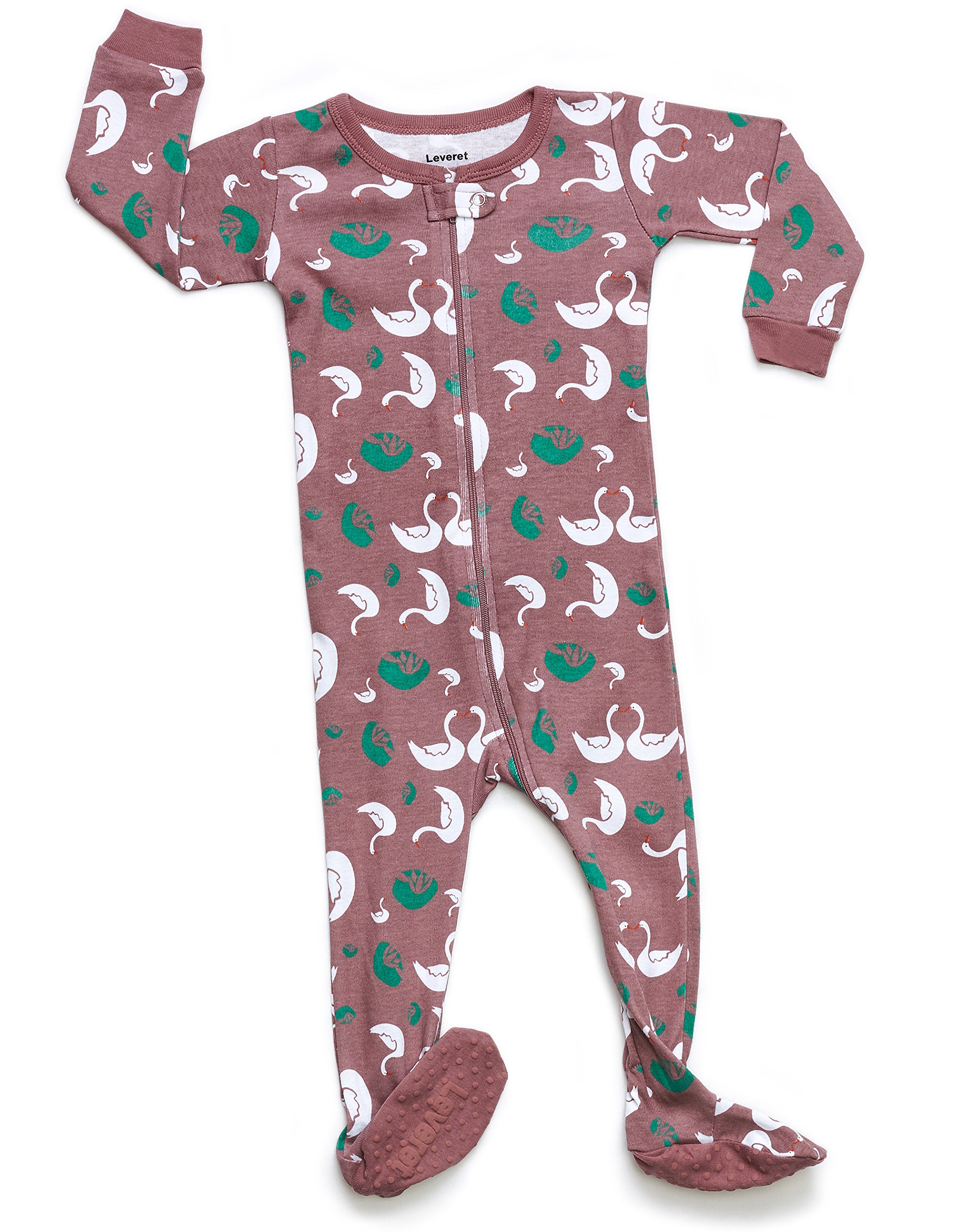 Leveret Kids Organic Cotton Swan Baby Boys Girls