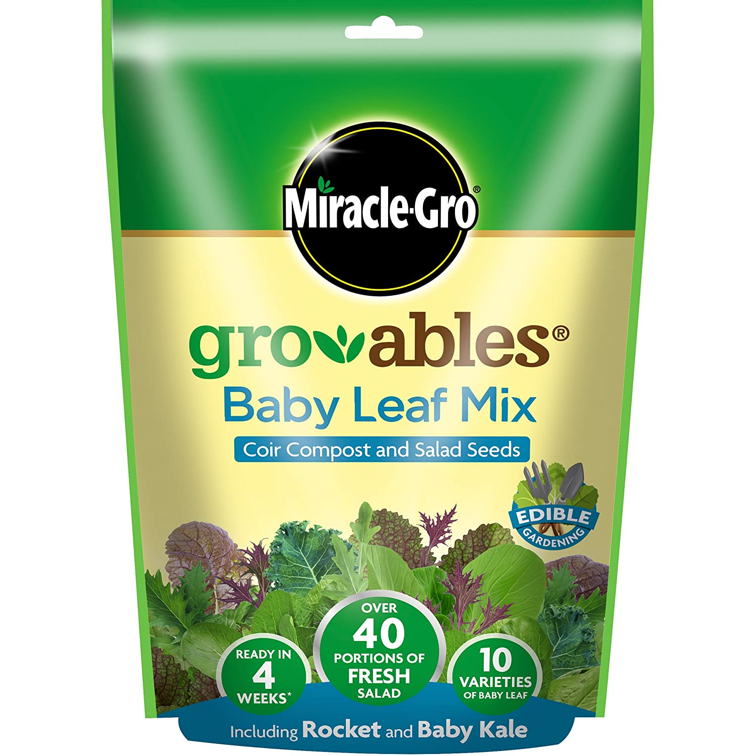 Miracle-Gro 119456 Seed Pod - Yellow Evergreen Garden Care Ltd
