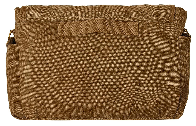 69003aa0ec71 Sweetbriar Classic Messenger Bag - Vintage Canvas Shoulder Bag for All-Purpose  Use B017KXTXLG CMBT