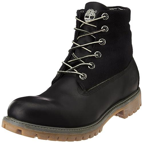 Timberland - Zapatos de cordones de Piel para hombre Marrón marrón, color Marrón, talla 40 UE