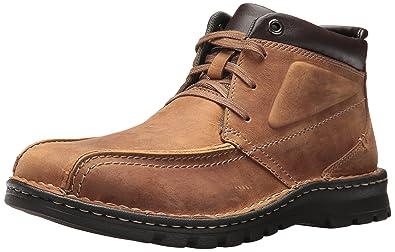 Clarks Vanek Rise Brown Boots 6TpEQ8Pv