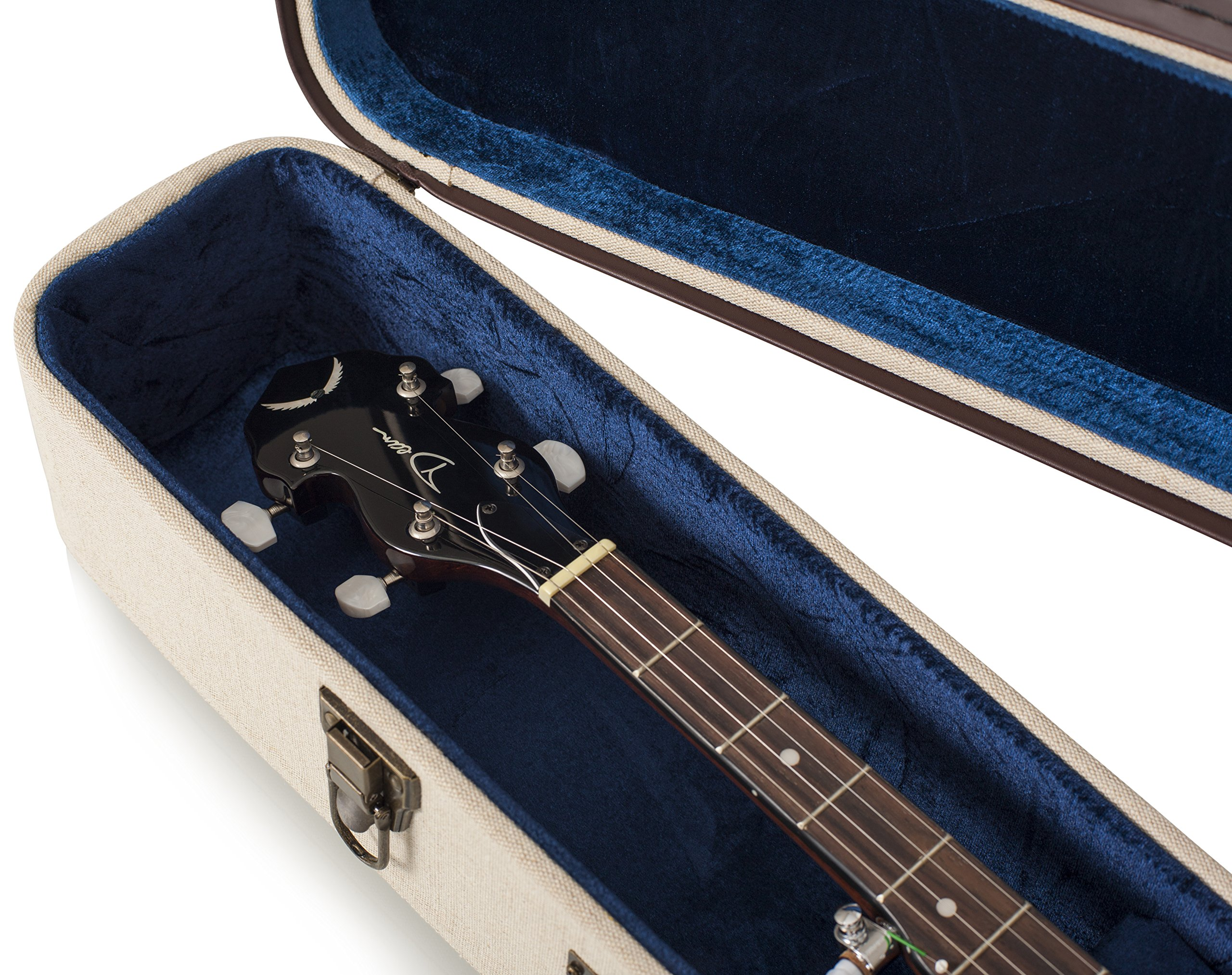 Gator Cases Journeyman Series Deluxe Wood Case for Banjos (GW-JM BANJO XL) by Gator (Image #8)