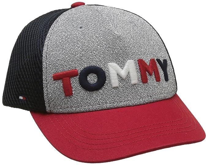 Tommy Hilfiger Glitter Cap, Gorra Niños, Azul (Corporate Clr 901), Small