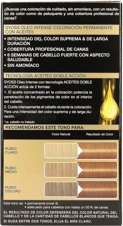 SYOSS - Tinte permanente, 50 ml: Amazon.es: Belleza