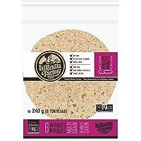 La Tortilla Factory Multigrain Wraps, 6-Pack of Non-GMO Wraps, 240gm