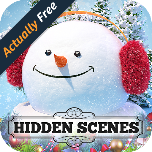 Hidden Scenes Seasons (Seasons Greetings Snowman)