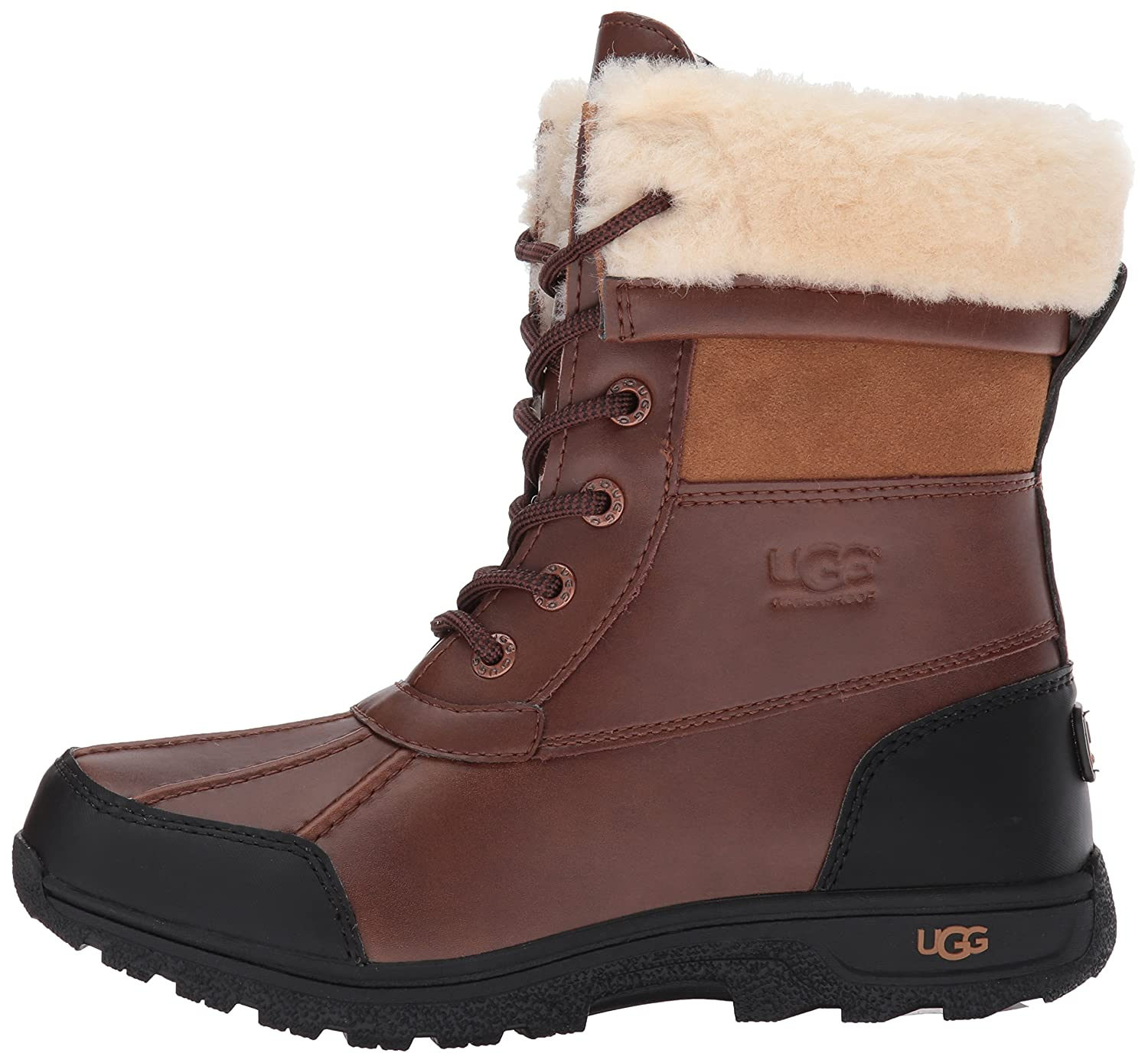 3d32b88d50c UGG Kids K BUTTE II Lace-Up Boots