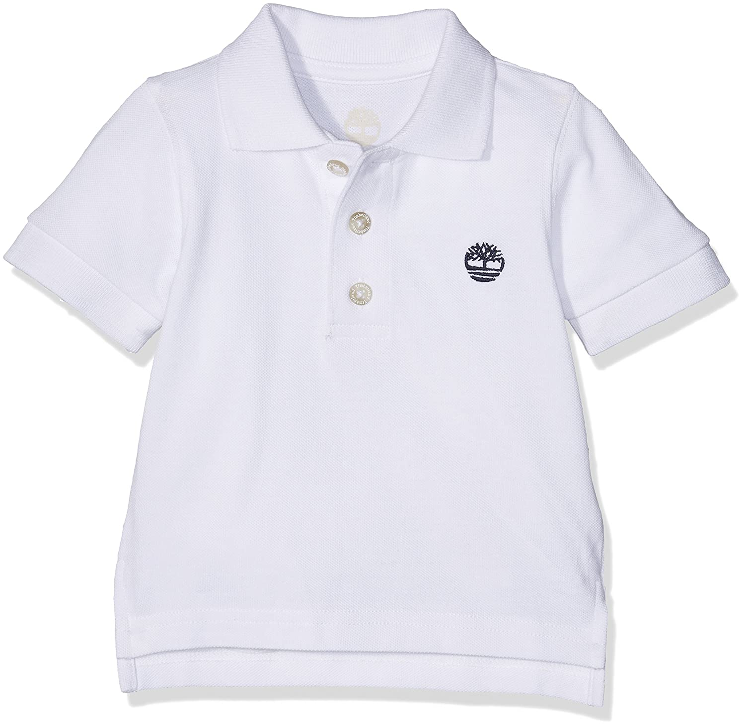 Timberland Short Sleeve Polo, T-Shirt Bébé Garçon Timberland T05G37 Polo Bébé garçon (Blanc) FR (Taille Fabricant: 2 Ans)