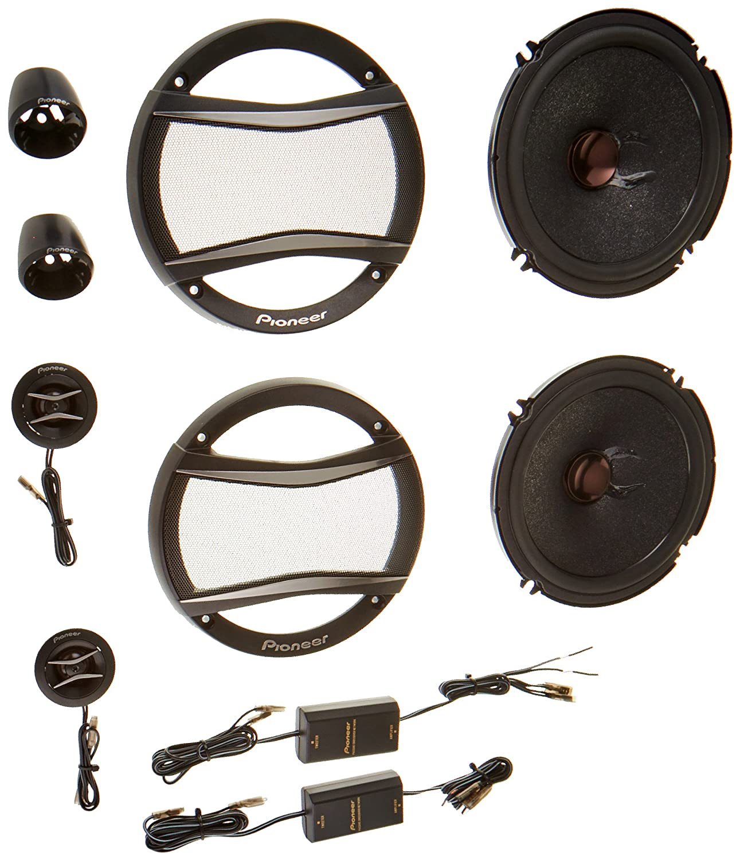 PIONEER A-series 6.5-Inch 350-watt Component Speakers Petra TSA1606C