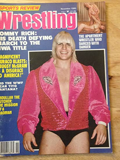 Amazoncom Sports Review Wrestling Nov 1980 Tommy Rich Low Grade