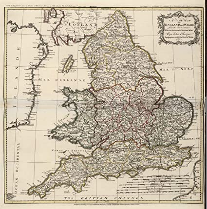 Amazon world atlas 1760 england and wales historic antique world atlas 1760 england and wales historic antique vintage map reprint gumiabroncs Choice Image