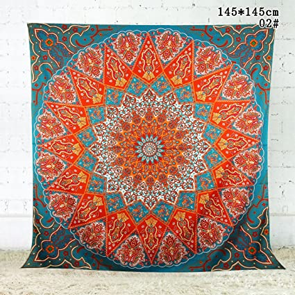 Cool Wall Hanging Mandala Tapestry Sofa Couch Cover Table Cloth Picnic Mat Yoga Thinking Mat Bedspread Beach Shawl Wall Art Bohemian Tapestry 145Cm X Pabps2019 Chair Design Images Pabps2019Com