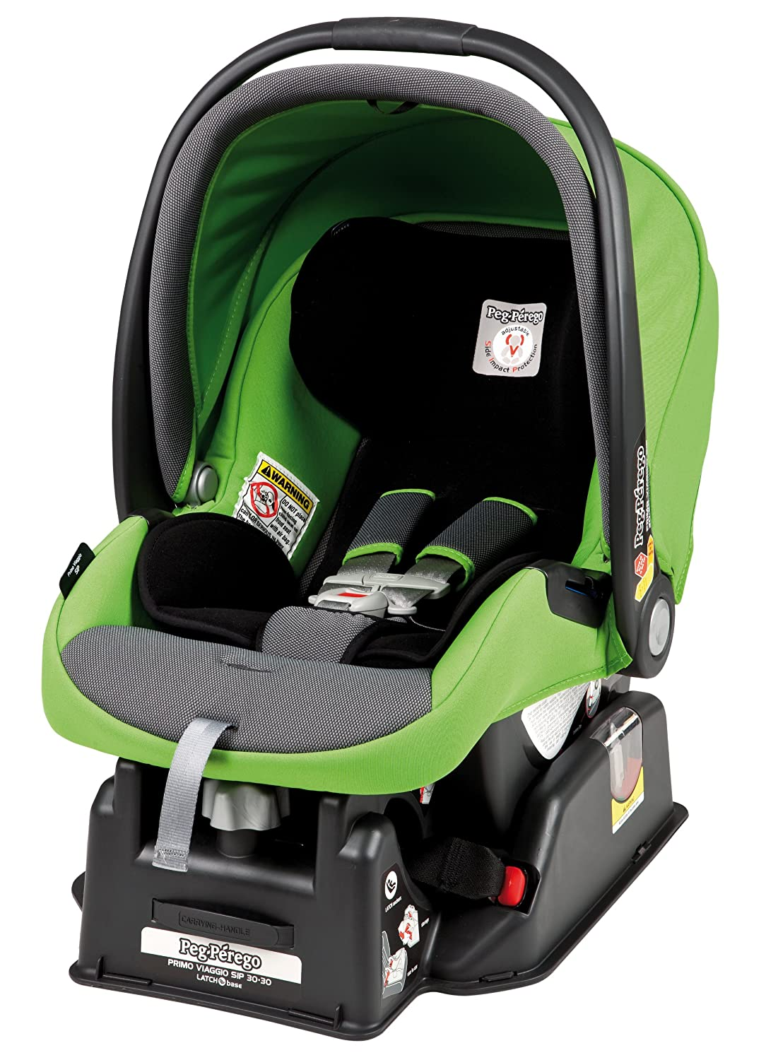 Peg Perego Primo Viaggio SIP 30/30 Car Seat, Mentha (Discontinued by Manufacturer)